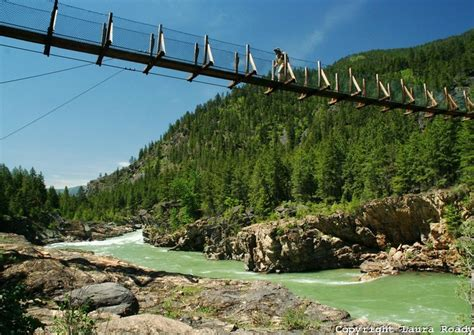 kootenai falls swinging bridge 62 best images about swinging bridges on pinterest