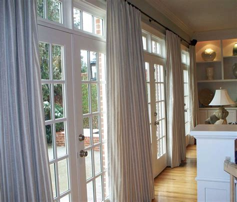 White Drapes For French Doors ? Prefab Homes : Elegant Drapes for French Doors