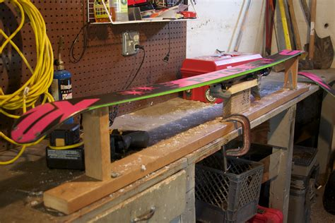 diy ski wax bench ski tuning bench plans woodideas
