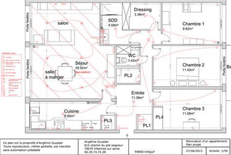 plan electrique cuisine norme electrique cuisine le circuit sp 233 cifique des prises