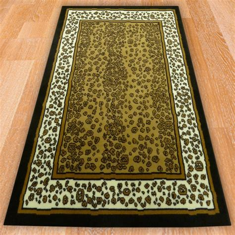 Themed Rugs by Leopard Themed Rug Carpet Runners Uk