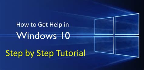windows 10 tutorial for dummies how to get help in windows 10 dummies windows10helper