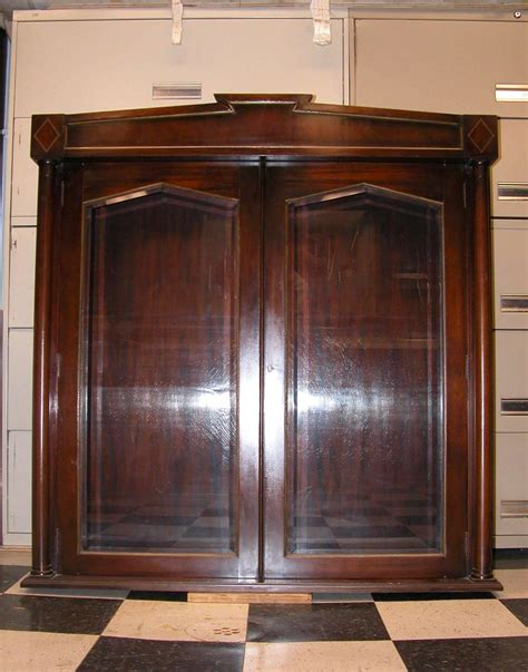 upper cabinets for sale pair of mahogany upper cabinets with glass doors for sale