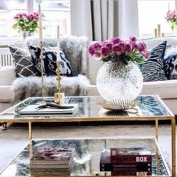 Decoration For Living Room Table 5 Key Pieces For A Chic Coffee Table Flower Glasses And Fur