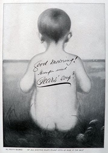 pears soap ad bare bottom child vintage health beauty ads