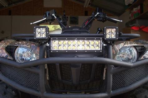 Led Light Bars For Atvs Choosing The Best Led Light Bar For Your Atv