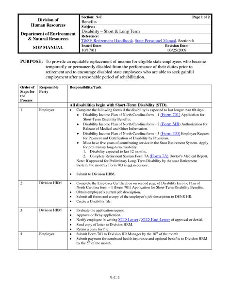 policy template sle free procedure manual template 28 images best photos