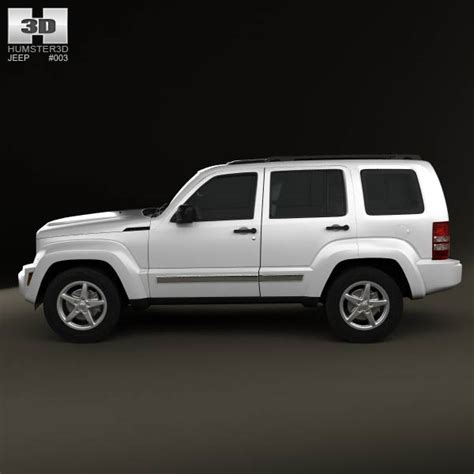 jeep models 2008 jeep liberty cherokee 2008 3d model humster3d