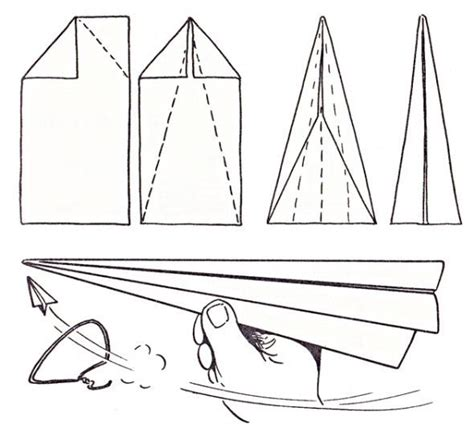 Easy To Make Paper Planes - easy paper airplane for cer