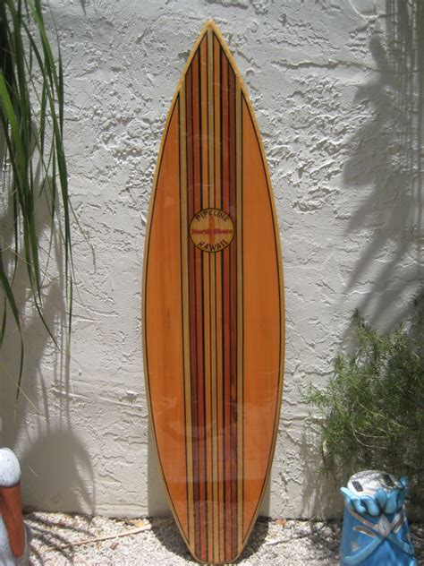 Wooden Surfboards For Decoration by Decorative Wooden Surfboard Wall For A Hotel Restaurant