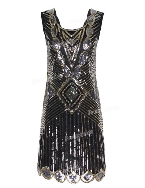 fashion outfits for women in their 20s prettyguide women 1920s gatsby sequin art deco scalloped