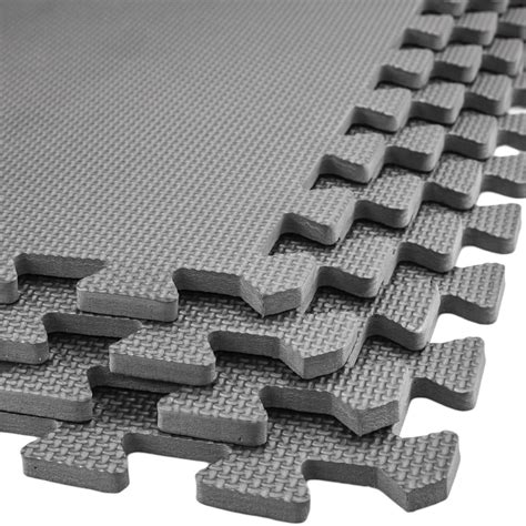 large interlocking soft foam mats exercise floor