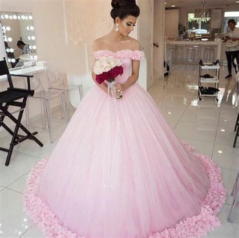 pink wedding dress simple wedding dress the shoulder bridal gowns gowns wedding