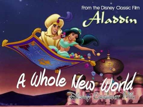 A Whole New World by Disney Eurobeat Quot A Whole New World Quot