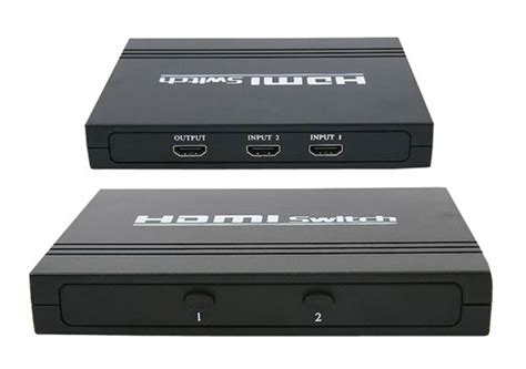 1 Audio Source 2 Outputs by High Definition Hdmi 2 Source Input And 1 Source Output