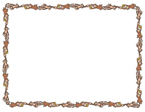border clipart free clip borders printable borders for students and