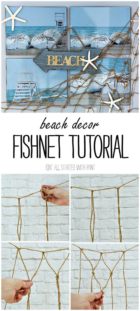 Fishnet Decorating Ideas by Wall Decor It All Started With Paint