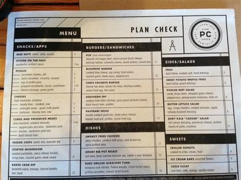 Daily Kitchen Menu by Menu But They Daily Specials Picture Of Plan