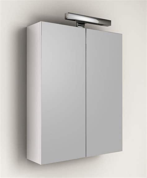 applique specchio bagno specchio contenitore per mobile da bagno applique 60