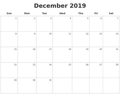 printable calendar dec jan february 2020 printable calender