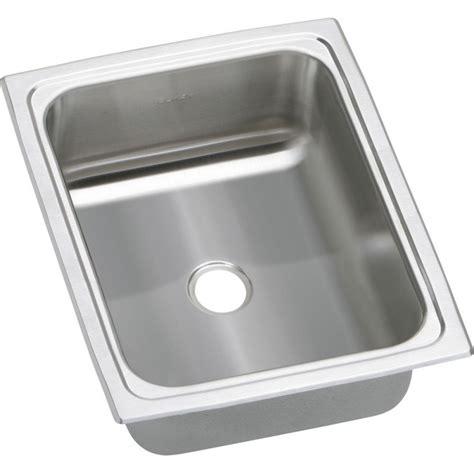 top mount bar sink elkay bpsfr1215 gourmet pacemaker stainless steel single bowl top mount bar sink