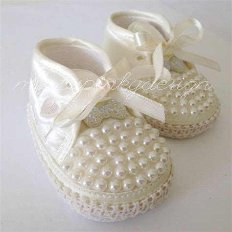 ivory newborn baby shoes baby crib shoes 0 3 months