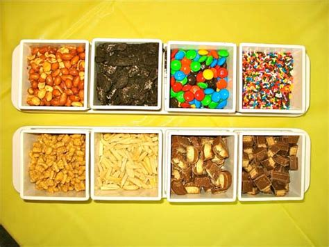 ice cream bar toppings list 1000 images about my favorite topping for ice cream on