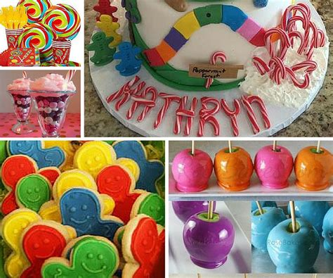 candyland theme decorations candyland ideas ideas at birthday in a box