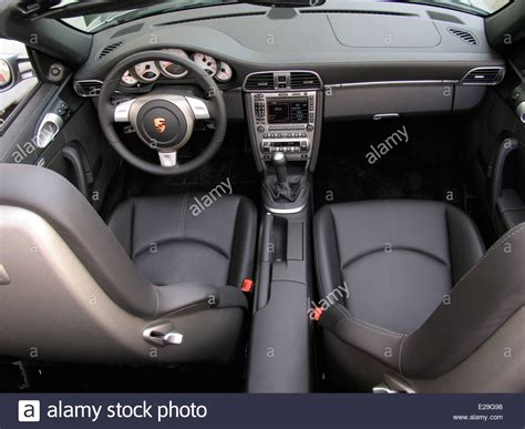 porsche inside view porsche 997 carrera s cabriolet interior view no driver or