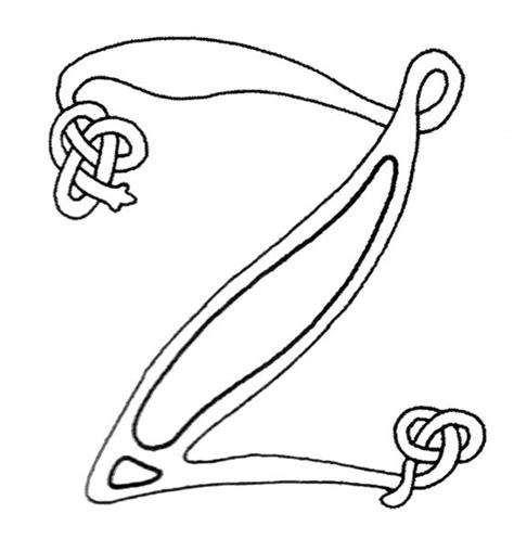 celtic letter coloring page 30 best color pages celtic images on pinterest alphabet