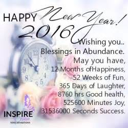 happy new year 2016 wishing you blessings and abundance pictures photos and images for