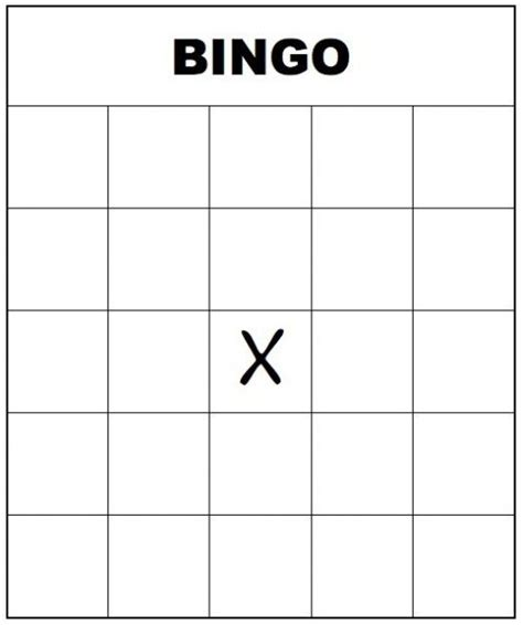 Template For Blank Bingo Cards Free by Free Printable Bingo Cards For And Adults Blank