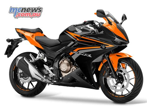upcoming honda cbr new 2016 honda cbr500r released mcnews com au