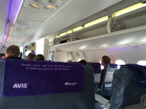 flybe cabin review of flybe flight from guernsey to southton in economy