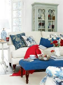 red white and blue home decor red white and blue colors adding patriotic decoration