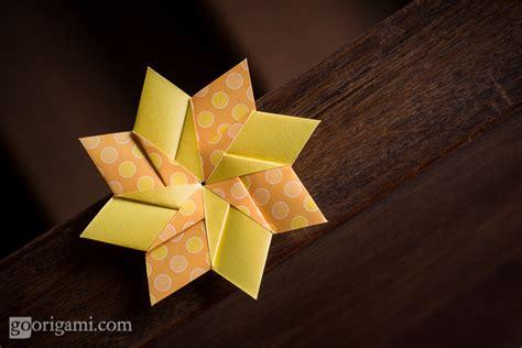 Modular Flower Origami - origami flower modular comot