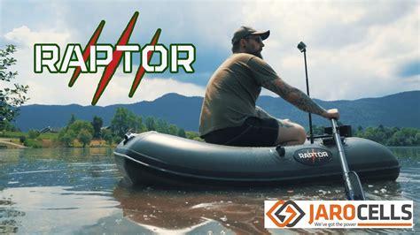 raptor boats 170 raptor 170 fast roll up jaro cells lithium 40ah 12v