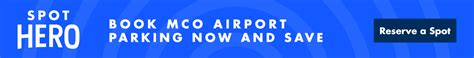 orlando airport parking guide find great mco airport parking
