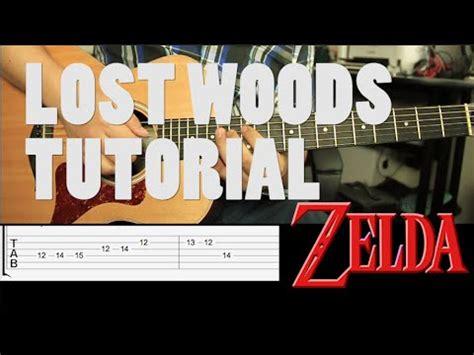 zelda tutorial guitar zelda lost woods tutorial guitarra tab guitar