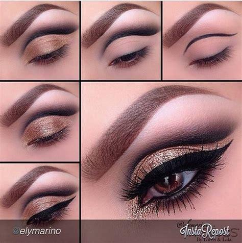 tutorial eyeshadow glitter new year s eve glitter eye makeup tutorials