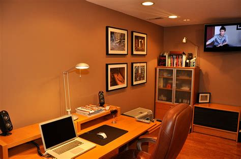 Basement Home Office Making The Space Work For You Basement Office