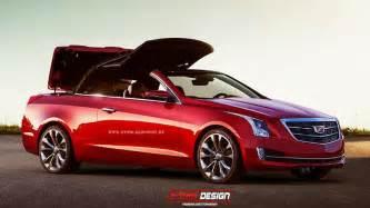Cadillac Covertible Rendering Cadillac Ats Would Make A Convertible