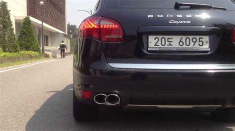 Porsche Cayenne Diesel S Sound by Porsche Cayenne Diesel Techart Exhaust Sound