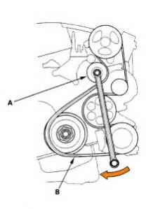 2006 honda civic belt diagram 2006 free engine image for