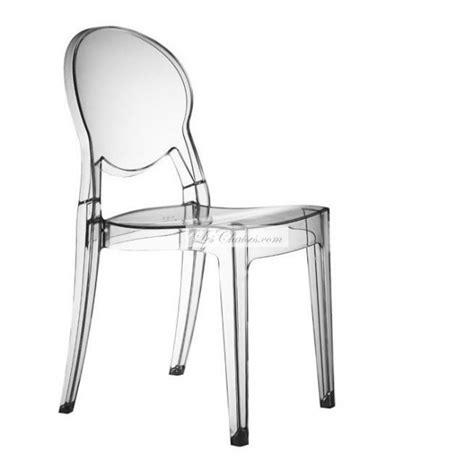 chaises transparentes but chaise transparente design igloo par scab et chaises