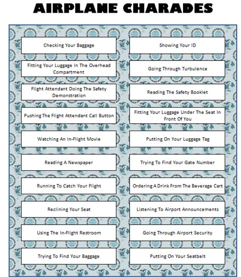 printable games to play on a plane restaurant bingo free printable game bingo restaurant