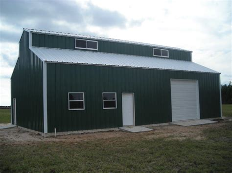 shops and garages 30 x40 raised center aisle building steel garages and