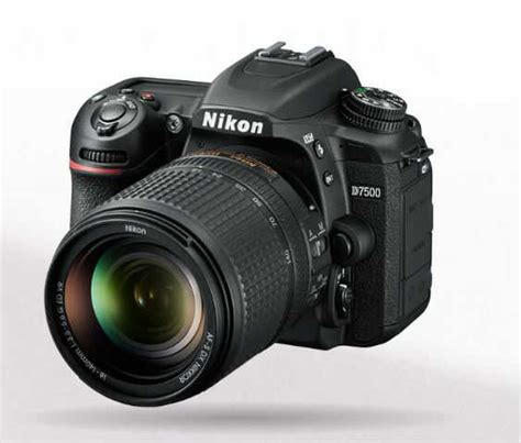 nikon new dslr nikon announces new nikon d7500 dx format dslr the gadgeteer