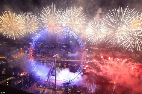 new year in the uk the uk welcomes in new year s 2016 with 12 000