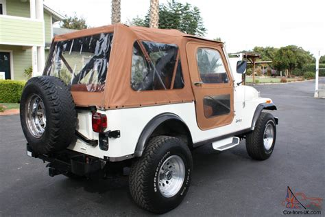 For Jeeps Only 1984 Jeep Cj7 Only 49 800 All Original Ca Jeep In